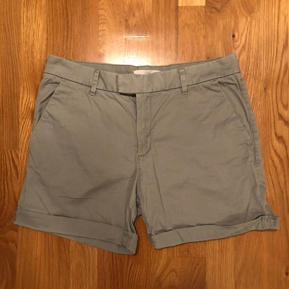 H&M Pants - H&M LOGG Chino/Khaki Light Olive Green Shorts